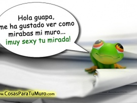 Piropo Hola Guapa
