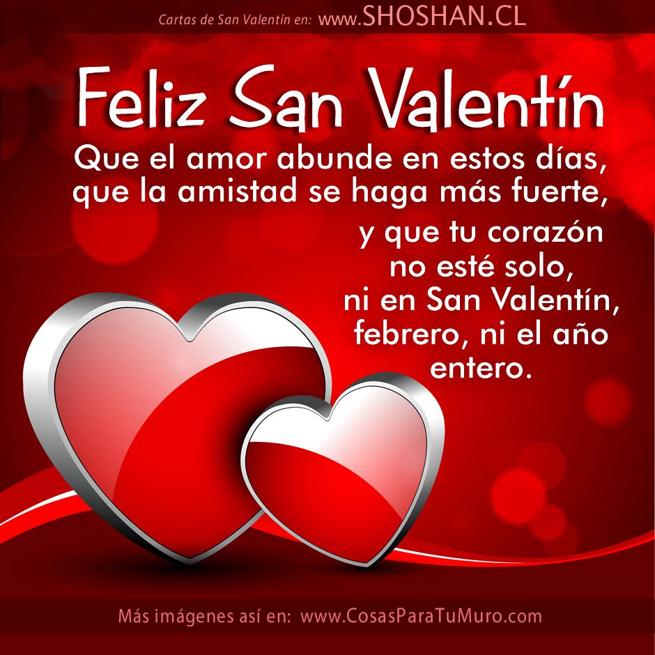 Deseos de San Valentn