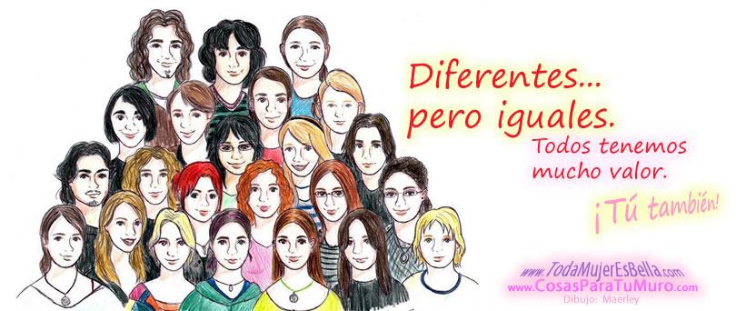 Diferentes, pero iguales