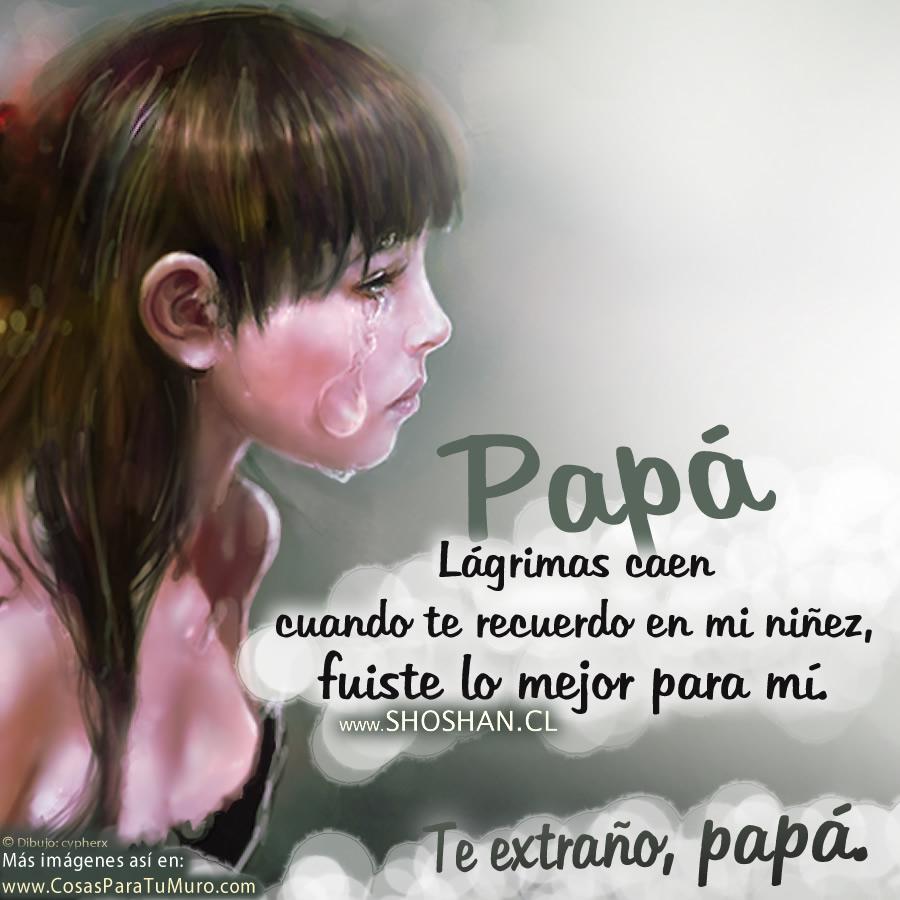 Lágrimas Por Mi Padre