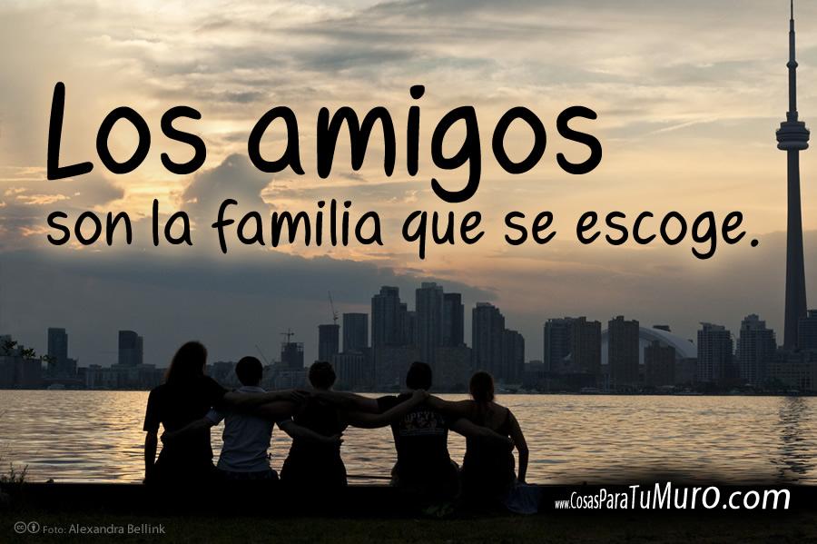 Los amigos son familia