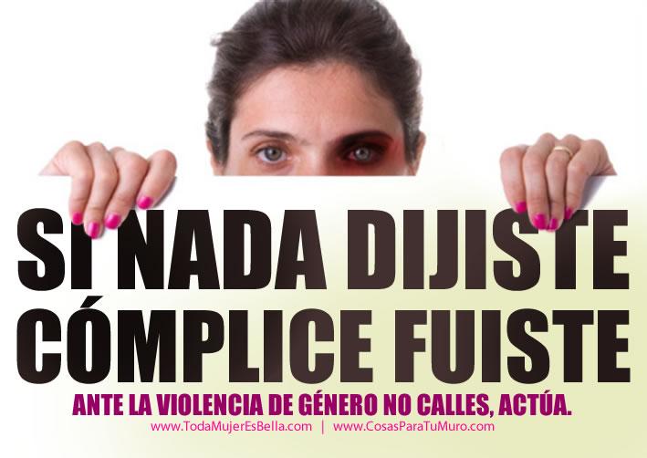 No violencia de genero