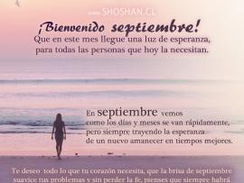 Bienvenido Mes De Septiembre