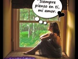 Siempre Pienso En Ti Mi Amor